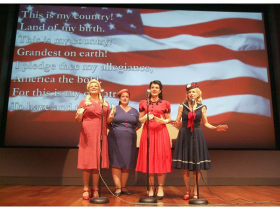 The Girls Next Door Bowers Museum Veteran's Day 2012